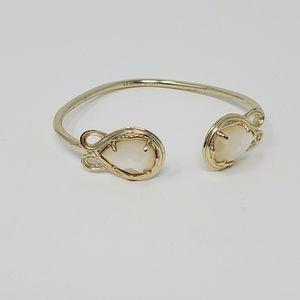 Kendra Scott Andy bracelet in Ivory Pearl